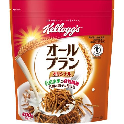 【ケロッグ オールブラン オリジナル 徳用袋 400g...