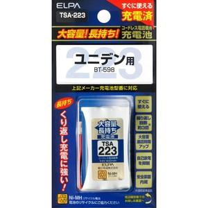 【エルパ(ELPA) 電話機・子機用大容量長持ち充電...