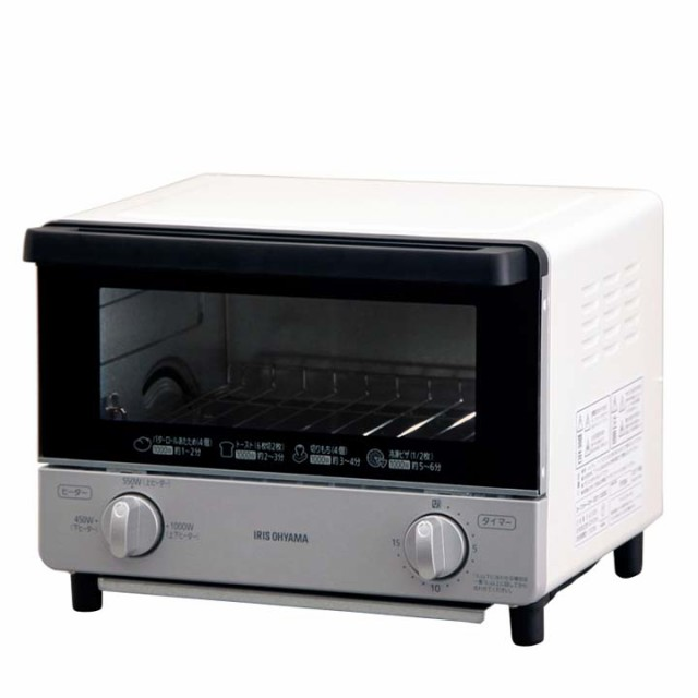 オーブントースター EOT-1003C ホワイト アイリス...