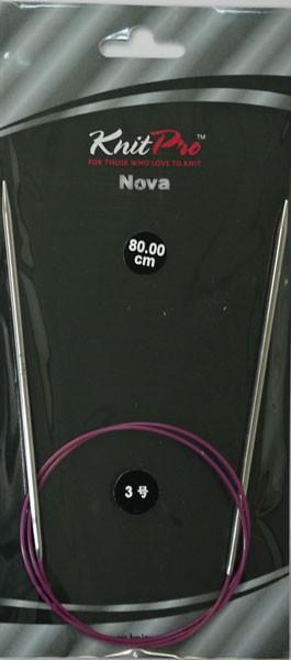 ニットプロ ノバメタル 輪針80cm 0号〜4号(77335...