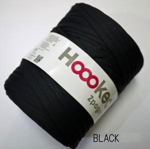 DMC ズパゲッティ ブラック BLACK Hooked Zpagett...