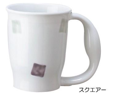 ほのぼのマグカップ スクエアー 青芳製作所 【...
