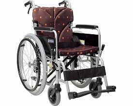 車椅子 軽量 折り畳み アルミフレーム自走用車椅...