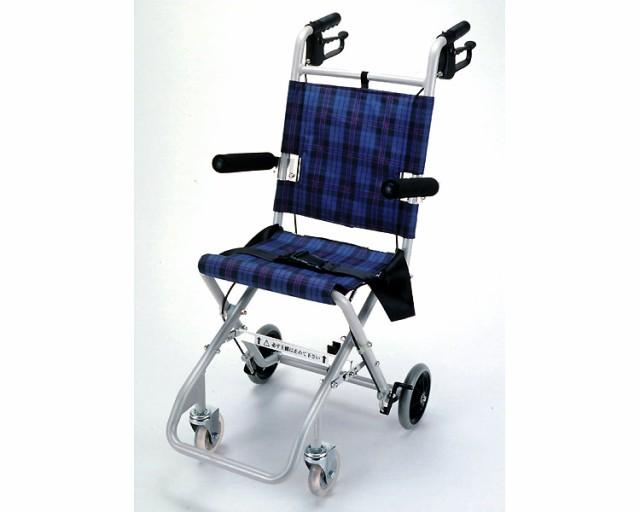 簡易車いす コンパクト車椅子 のっぴー(収納バッ...