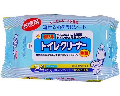 除菌トイレクリーナー/24枚入 【ニシキ (名古...