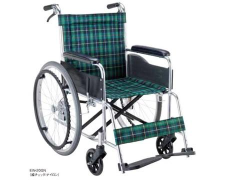 アルミ自走用車椅子 エコノミーシリーズ EW-20 背...
