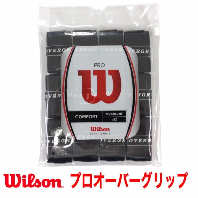 ウィルソン(WILSON)プロオーバーグリップ(12本セ...