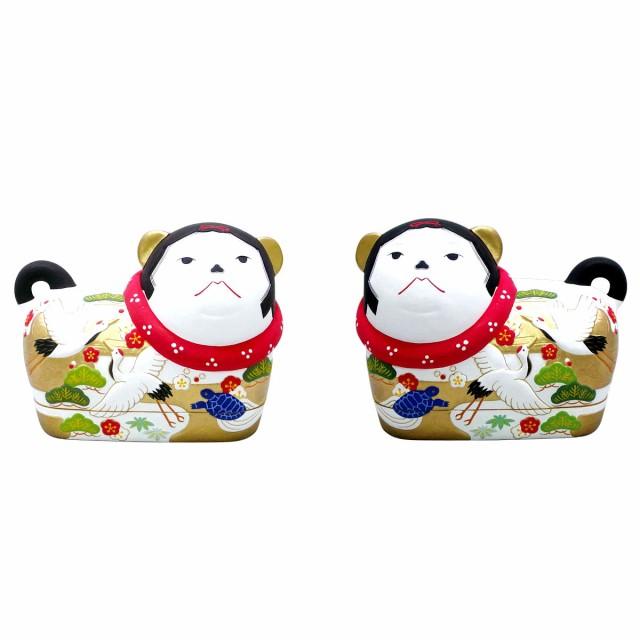 【送料無料】雛人形(ひな人形) 雛道具 『錦彩犬...