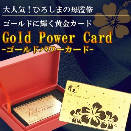 【送料無料】Gold Power Card   ゴールドパワーカ...