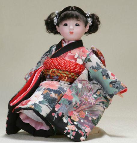 日本のおみやげ お土産 市松人形 日本人形 13号...