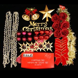クリスマスツリー オーナメント 飾り ライト ...