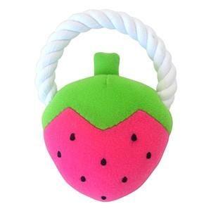 ワンダートイ イチゴ(犬用おもちゃ)