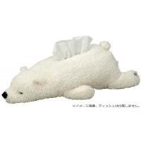 ねむねむ ティッシュケース WHITE(シロクマのラ...
