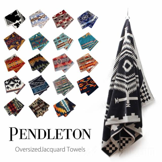 ペンドルトン PENDLETON OVERSIZED JACQUARD TOWE...