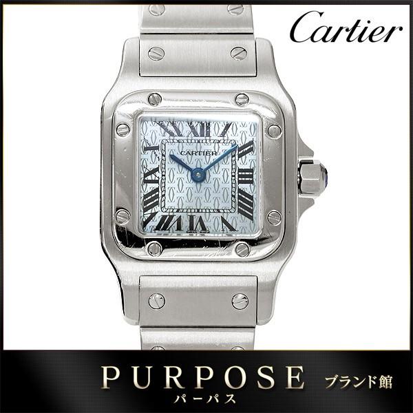 カルティエ Cartier サントスガルベSM W20064D6 ...