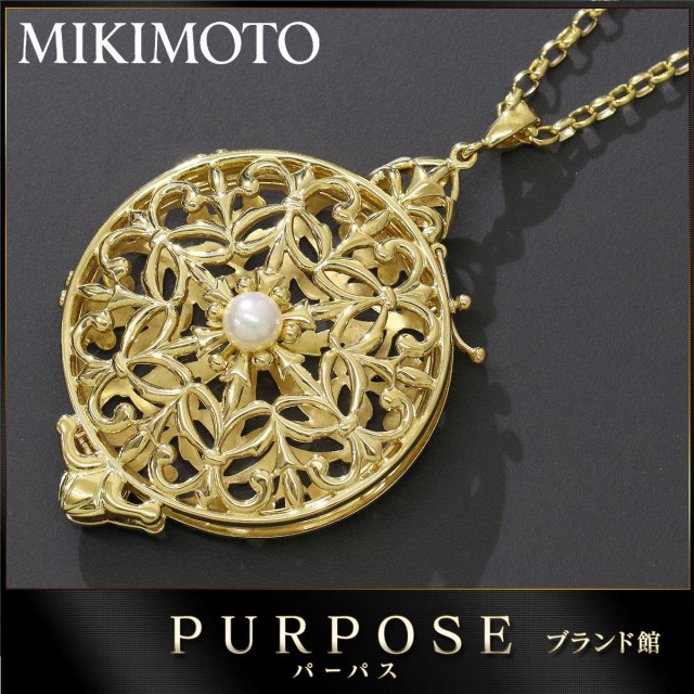 ミキモト MIKIMOTO アコヤ真珠5.9mm ルーペ付き ...