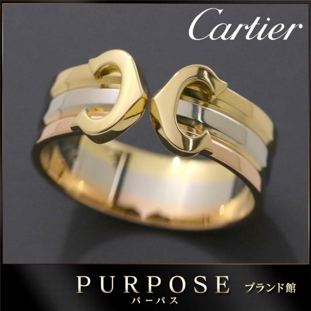カルティエ Cartier 2C リング #51 スリーゴール...