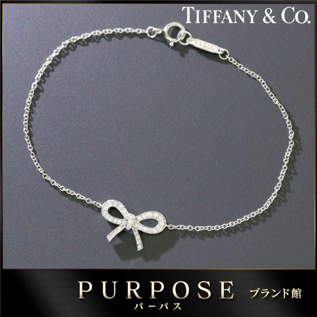 ティファニー TIFFANY&Co. ボウ ダイヤ ブレスレ...