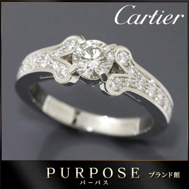 カルティエ Cartier バレリーナ ダイヤ 0.52ct G/...