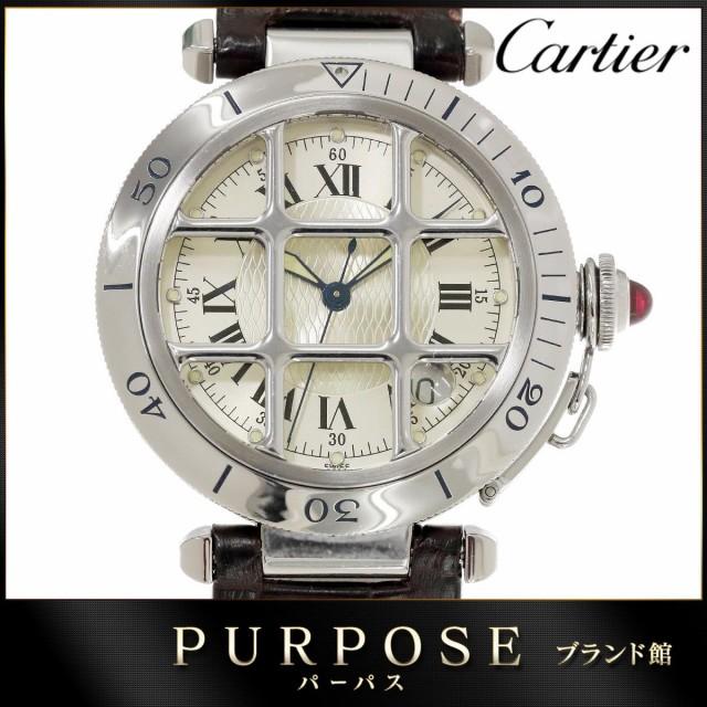 カルティエ Cartier パシャ グリッド メンズ 腕時...