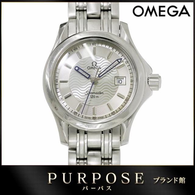 オメガ OMEGA シーマスター120 レディース 腕時計...