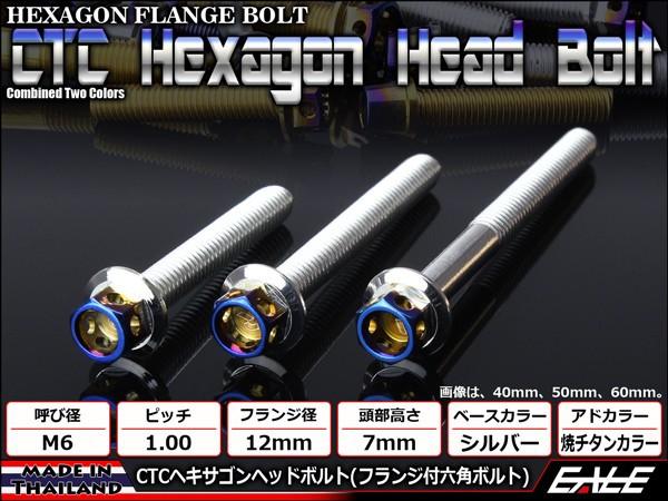 ヘキサゴンヘッドボルト CTC フランジ付六角ボル...