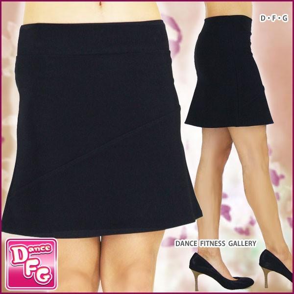 ダンススカート★EH 斜めラインミニスカート |...
