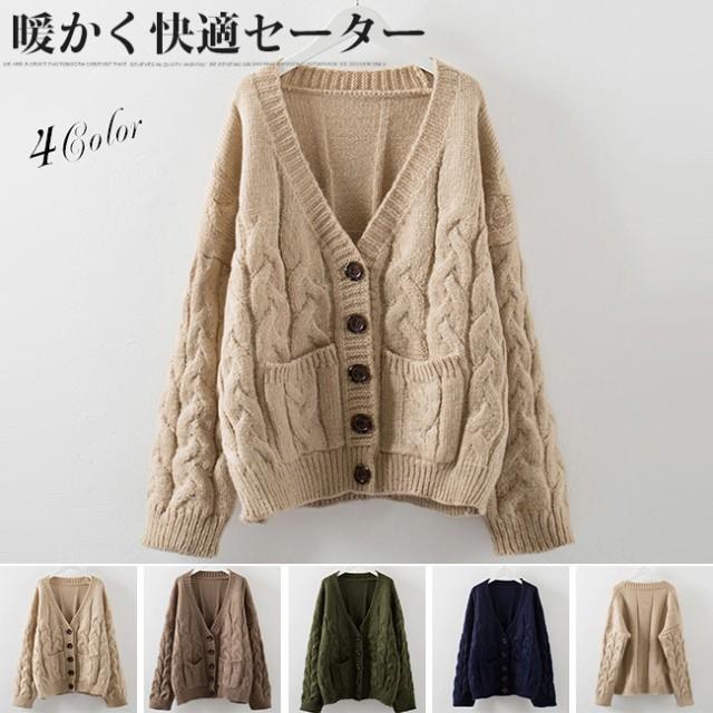 レディースファッション 女性 セーター ニット コ...