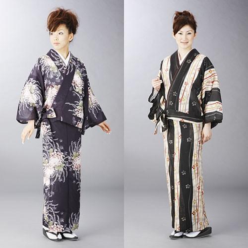 高級駒絽(こまろ) 夏用二部式着物【送料無料】
