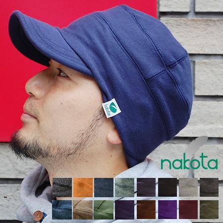 Nakota (ナコタ) スウェット ワークキャップ 帽子...