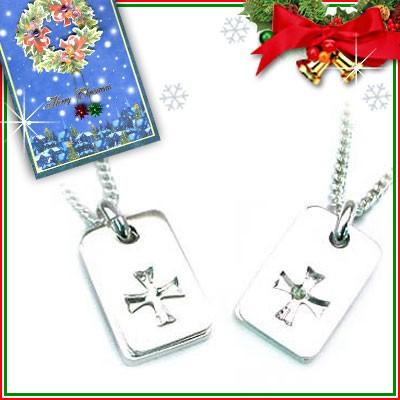 クリスマス限定Xmasカード付( 8月誕生石 ) SVペリ...