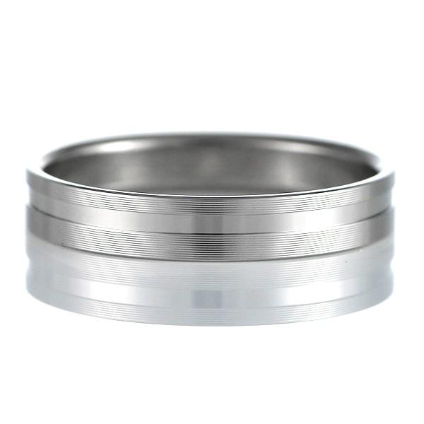結婚指輪 マリッジリング ペアリング つや消し ス...