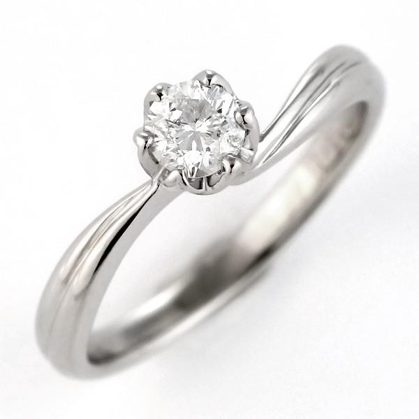0.33ct ダイヤモンド ダイヤ プラチナ 婚約指輪 ...