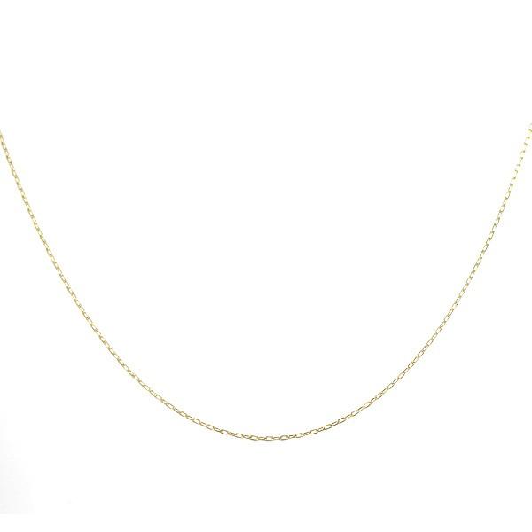ネックレス 18金 K18 18k カット小豆 アズキ 線径...