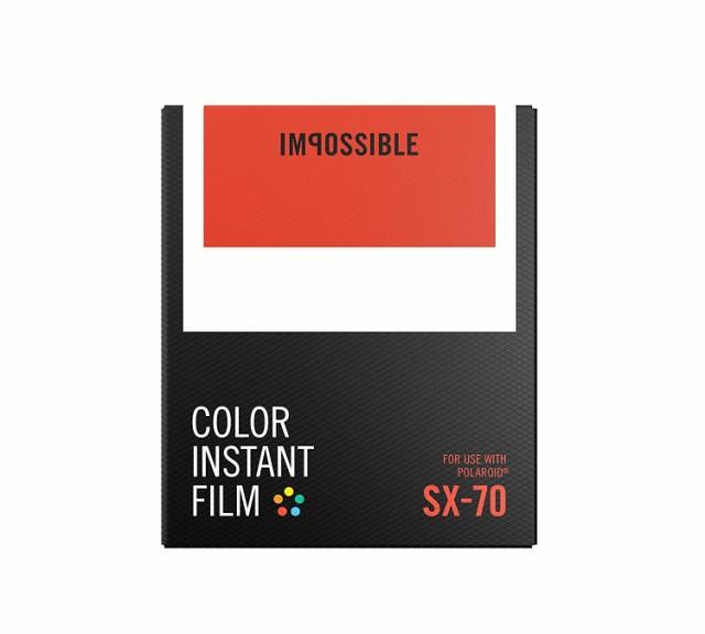 IMPOSSIBLE ポラロイド用インスタントフィルム CO...