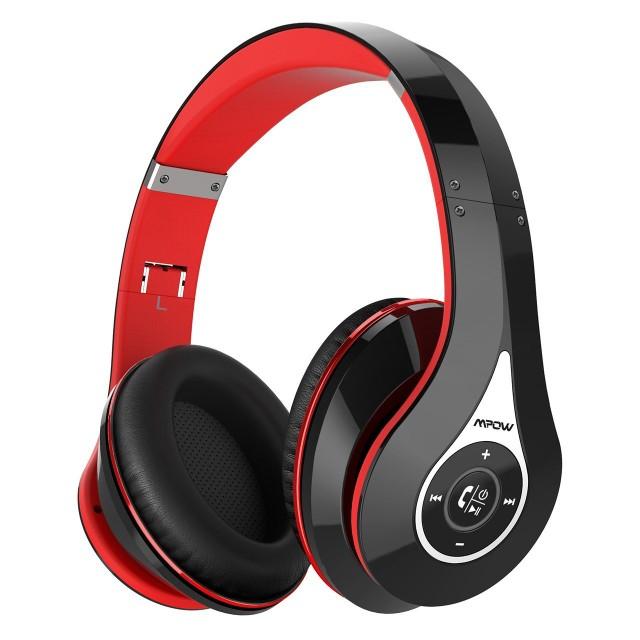 Mpow 密閉型 Bluetooth ヘッドホン 高音質 20時間...