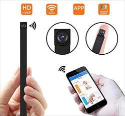 1080P HD P2P Wifi 超小型 動体検知 高画質隠しカ...