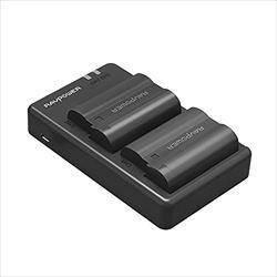 RAVPower EN-EL15 EN-EL15a 互換バッテリー 2個 +...