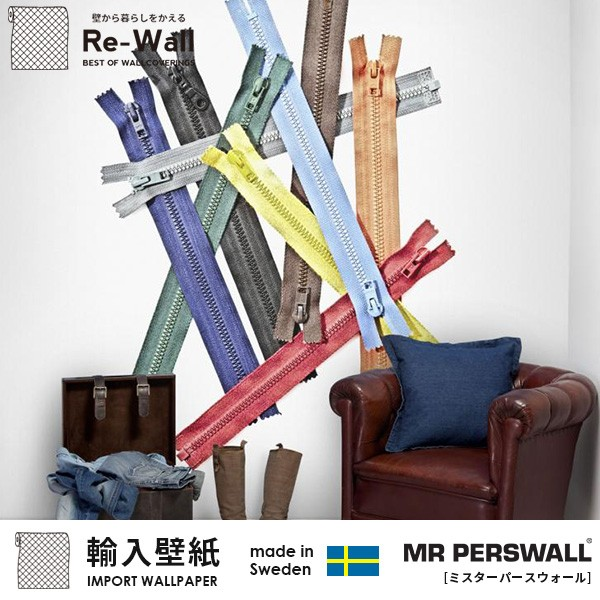 輸入壁紙 スウェーデン製 MR PERSWALL Fashion ミ...