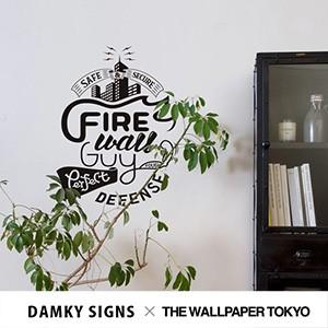 DAMKY SIGNS ウォールステッカー THE WALLPAPER T...