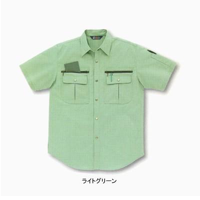 作業服・作業着 サンエス BC827 半袖シャツ 4L〜5...