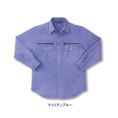 作業服・作業着 サンエス BC829 長袖シャツ XL[作...
