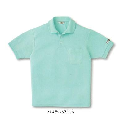 作業服・作業着 サンエス AG10060 エコ半袖ポロシ...