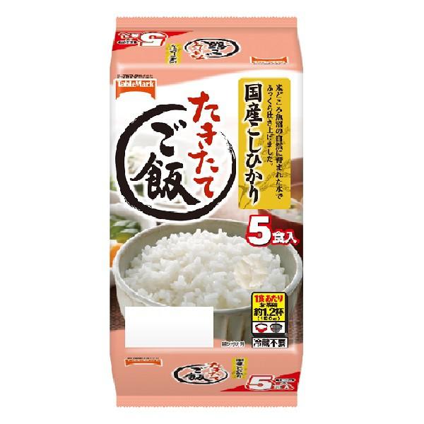 たきたてご飯国産こしひかり 5食×8(40食)(テー...