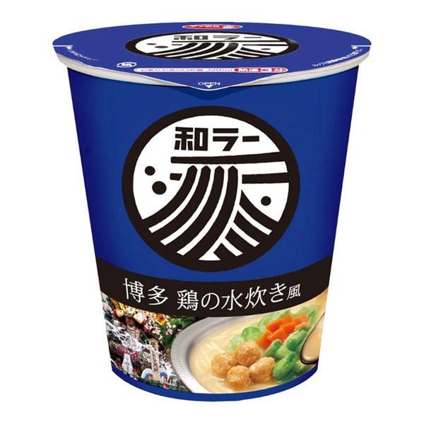サンヨー食品和ラー 博多 鶏の水炊き風 12食入り...