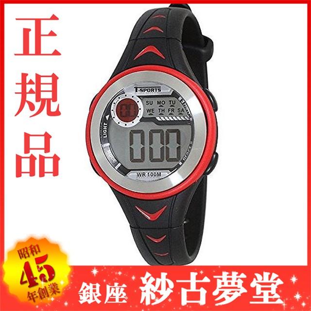 クレファー CREPHA デジタル腕時計 T-SPORTS ウォ...