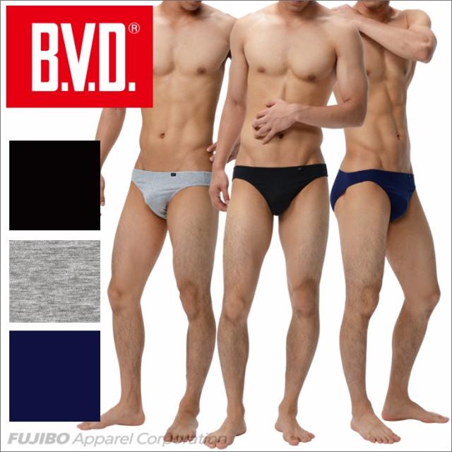 B.V.D. ビキニ「ソリッド」 M,L,LL BVD ブリー...