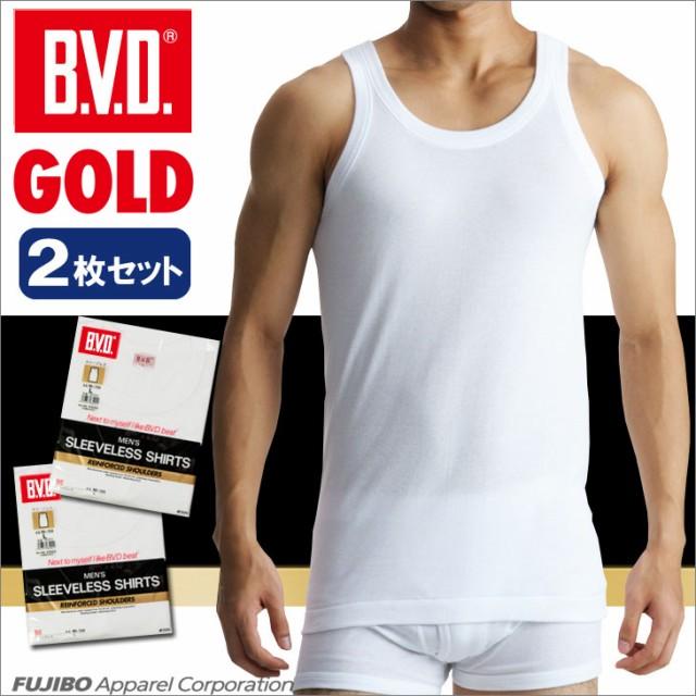 【30%OFF】B.V.D.GOLD ランニング 2枚セット S,M...