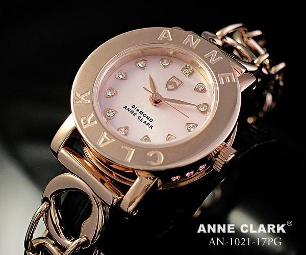 ANNE CLARK アンクラーク レディース腕時計 天然...
