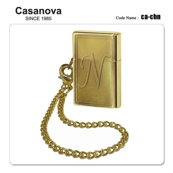 Casanova カサノバ オイルライター CA-CHN イニシ...